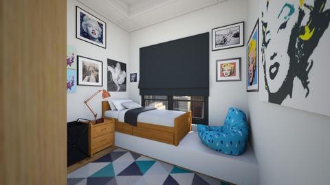 Marilyn Monroe Fan - Bedroom  - by SammyJPili