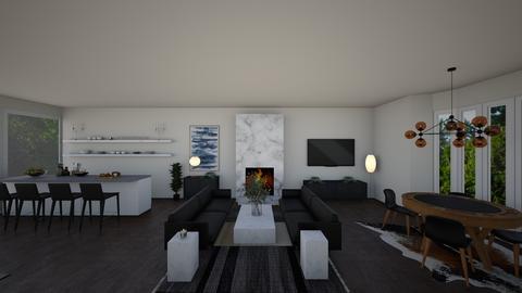 Marie Sage Living Room - Living room  - by Jlindberg