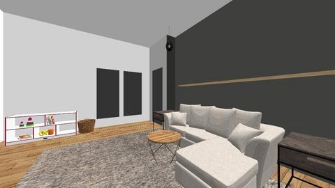 Den  - Modern - Living room  - by marenlane