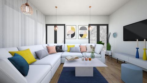 playful modern - Living room - by yusra1113