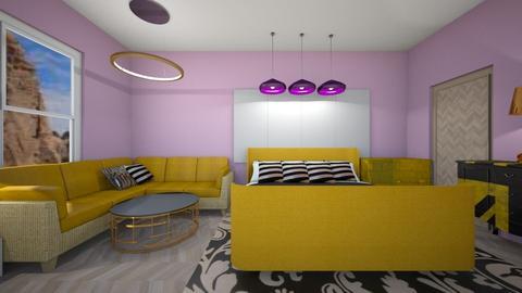 Haring Oak - Modern - Bedroom  - by deleted_1609868595_bleeding star