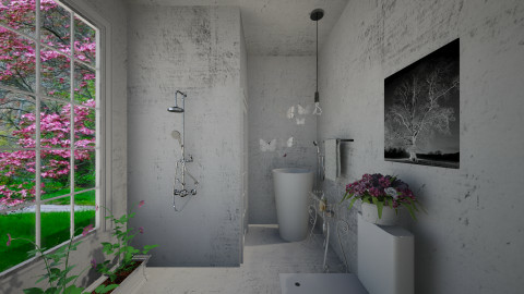 Eine Kleine  - Glamour - Bathroom  - by Sara alwhatever