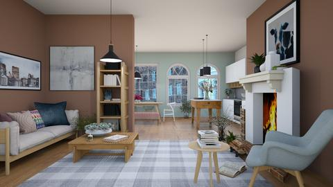 hygge - Minimal - Living room  - by Happyspaniel