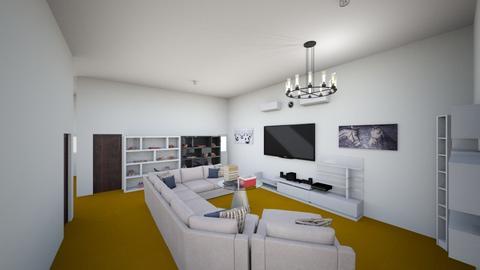 Modern Living Room - Living room  - by Djordhiansyah