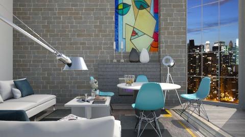 Apartment003 - Eclectic - by arekwarren5