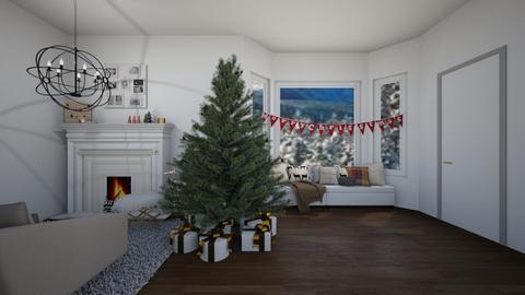 christmas - Living room - by s _ i _ j