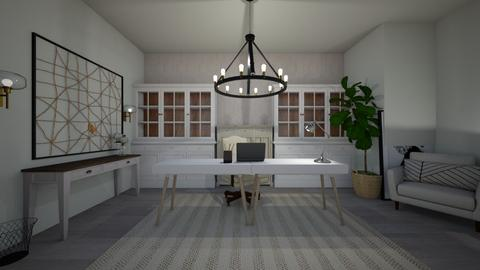 Rustic Office - Office  - by daly5436
