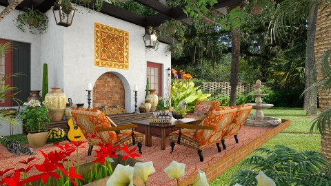 Design 187 Arizona Patio - Garden  - by Daisy320
