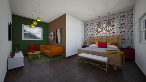 mountain room - Bedroom  - by vlj51D4C