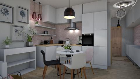 pinky - Kitchen  - by ewcia3666