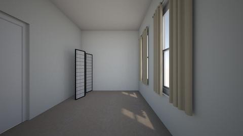 japan room - Bedroom - by Robert_Roisgard