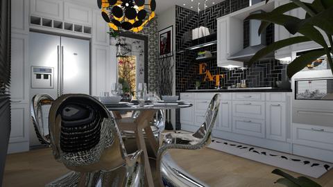 Flat 24 Kitchen - Classic - Kitchen  - by LuzMa HL