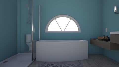 Tub and Window Side - Bathroom  - by espaulds5