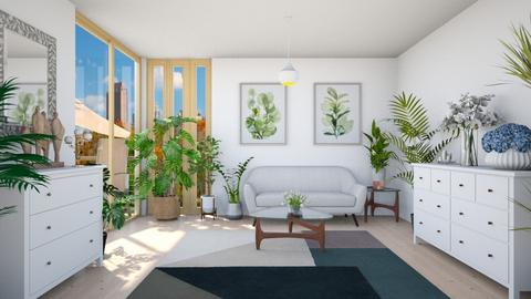 Indoor Plant room - Living room  - by Vicesz