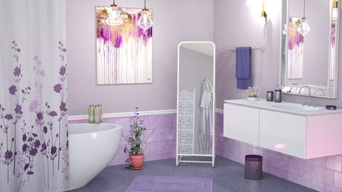 M_Lavender  - Bathroom - by milyca8