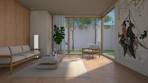 Kinuta Sun Yard - Living room - by JennieT8623