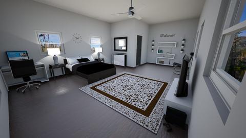 done - Bedroom  - by Amareebenson