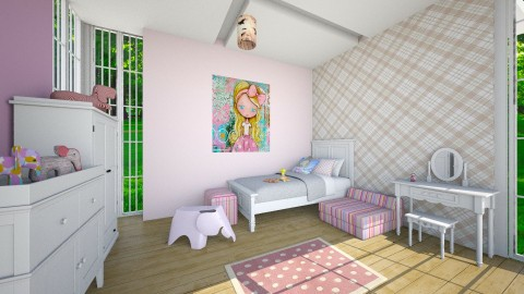 kids room 3 - Modern - Kids room  - by yasamanmahmoodi