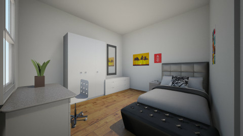 Bedroom - Bedroom - by Sarah Corrie