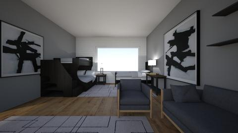 New bedroom design 2 - Country - Bedroom  - by P00lchickenDude