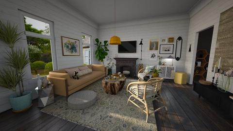 honey house - Living room  - by Brittany Danielle Twilley