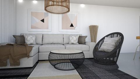 tali 2 - Living room  - by GaliaM