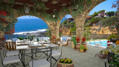 Design 202 California Living - Garden - by Daisy320