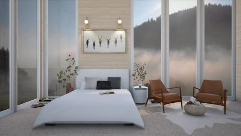 Foggy Day - Bedroom  - by Maria Rachel