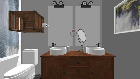 Kids Bathroom Upstairs - Bathroom  - by npupid123