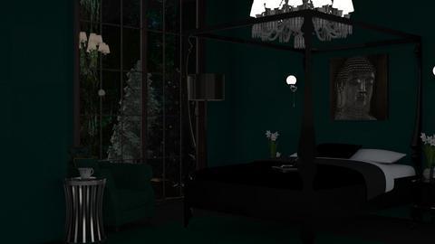 jade n sage - Bedroom  - by tiredhel