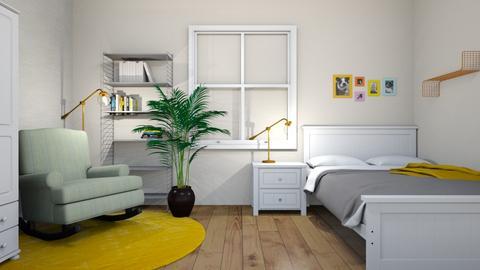 Zuzias room - Minimal - Bedroom  - by zola16