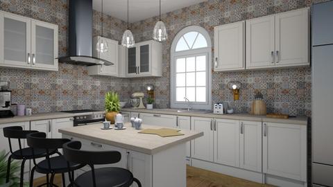 cute kitchen - Kitchen  - by MeenaC
