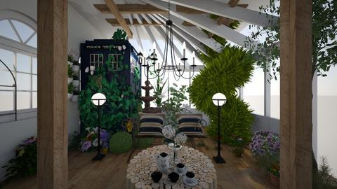 Garden Conservatory - Garden  - by daly5436