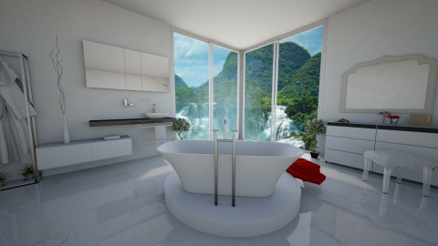 what a view - Bathroom - by designerm