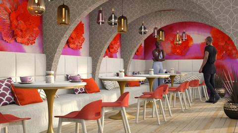 O Keeffe - Dining room - by Liu Kovac