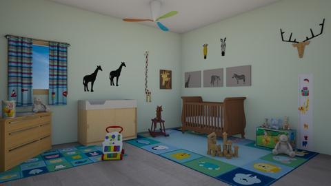 Almost a toddler - Bedroom  - by KarJef