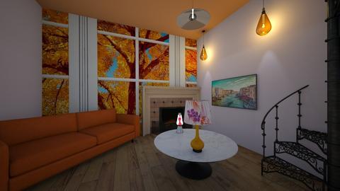 Autumn Paridise - Living room  - by benjaminn62