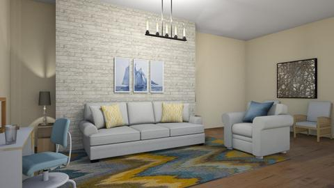 A glass and a chair - Modern - Living room  - by 29catsRcool