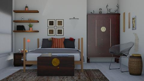 Eclectic bedroom - by Joanne Galle_680