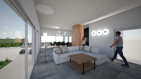 gabi y rafa 2 - Living room  - by pautrabucc