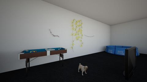 room - by Mariafebbraro