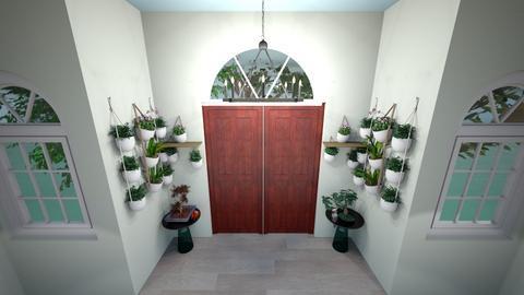 parrot jungle - Living room  - by ellarog