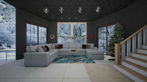 living room for snow - by Malshi
