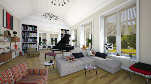 Hyde Park London - Eclectic - Living room  - by evahassing