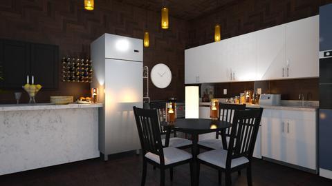 kichen - Kitchen  - by Malshi