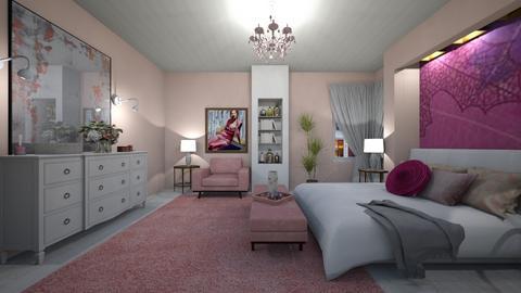 Blurry Bedroom - by Themis Aline Calcavecchia