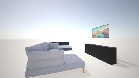 raka - Living room  - by antonmahardika