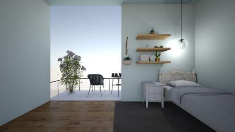 Simple bedroom - Bedroom  - by tathianhduong2009