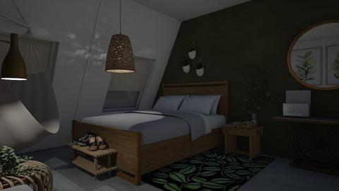 Boho teen room - Bedroom  - by Noa Jones