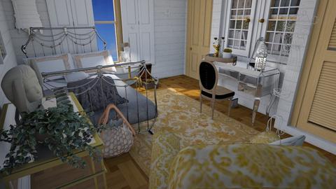 Her room  - Feminine - Bedroom - by augustmoon